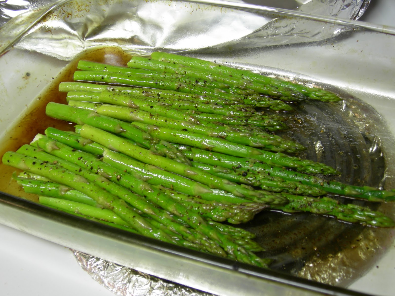 how to cook asparagus in the oven with soy sauce