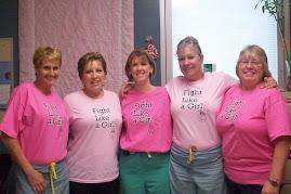 Leslie, Me, Kelly, Bev, and Sherry