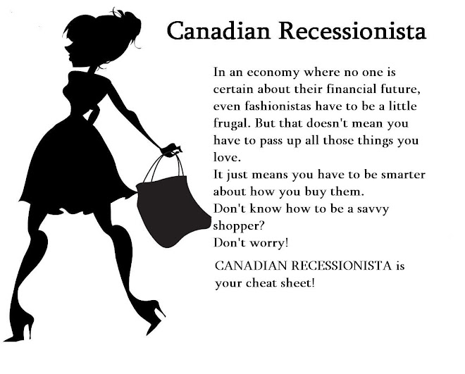 Canadian Recessionista! <br> Living The Lifestyle You Want for Less