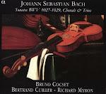 Bach JS - Sonatas BWV 1027 - 29, Chorals, Trios - Cocset, Cuiller, Myron (APE)