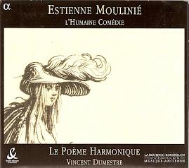 Moulinie - L'humaine comedie - Dumestre, Le Poeme Harmonique (flac)