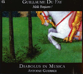 Dufay - Mille Bonjours! - Diabolus In Musica (flac)