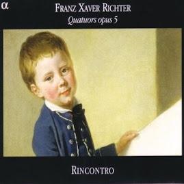 Richter FX - Quatuors opus 5 - Rincontro (Ape)
