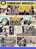revista cutezatorii benzi desenate valentin tanase horia arama temerarii spatiului