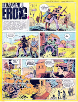 revista cutezatorii benzi desenate bd comics romania detasamentul  eroic sandu florea petre luscalov