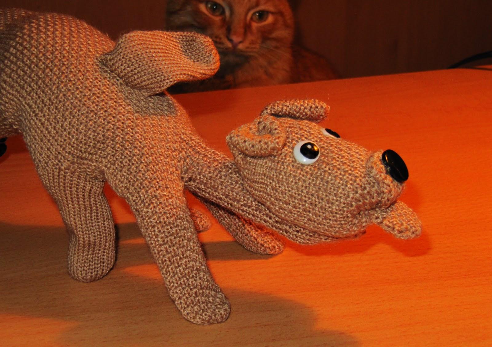 Как сделать из перчаток игрушку своими руками