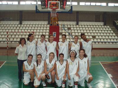 Júniores do Basquetebol Feminino do Sporting Clube Farense