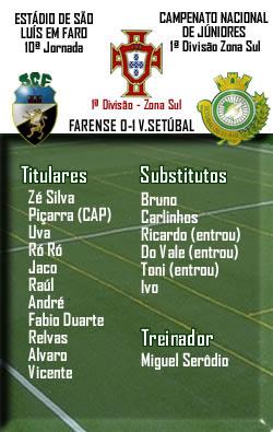 Farense 0-1 Setúbal