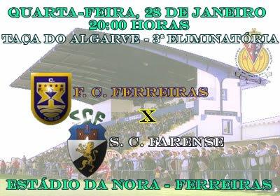 Taça do Algarve - Ferreiras-Farense