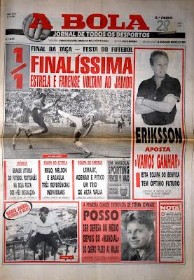 O dia seguinte à final do Jamor | Estrela 1-1 Farense