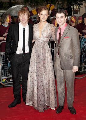 Emma Watson At Premiere of Half Blood Price