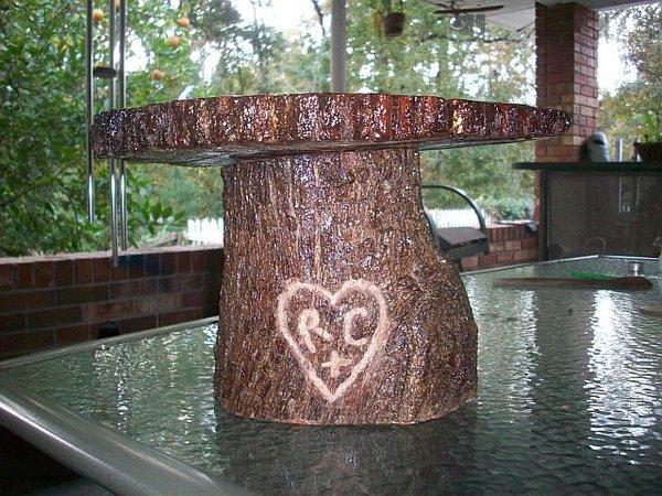 jameson creations wedding planners diy tree cake stand. Black Bedroom Furniture Sets. Home Design Ideas