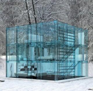 toute en verre d tails d 39 architecture