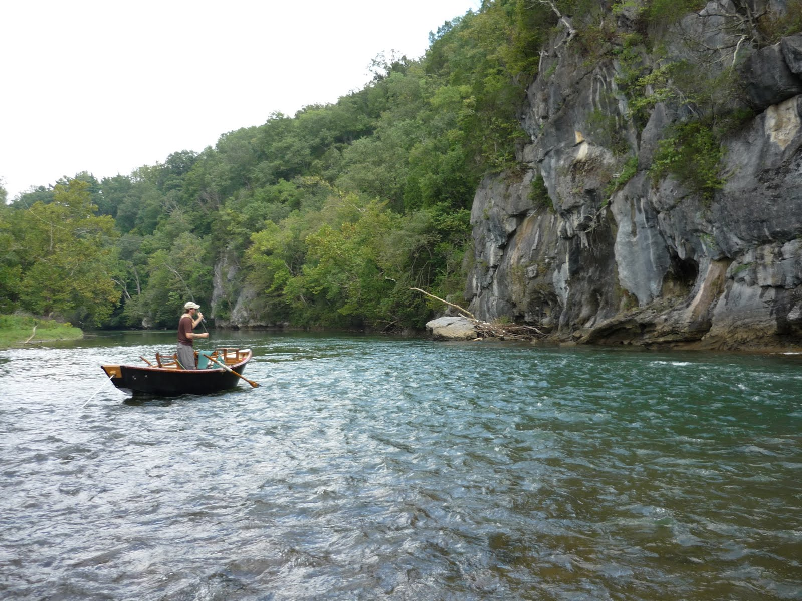 Peter 39 s fly fishing adventures floating the holston and for Trout fishing in tennessee