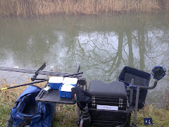ONE OF THE END PEG DOWN AT BISHOPS CANNING CANAL STRETCH