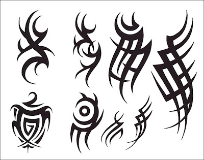 black vanila tattoo tribal