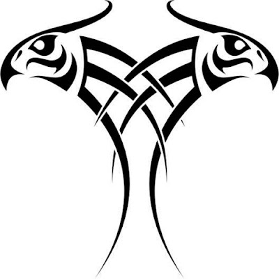eagle manning tribal tattoo