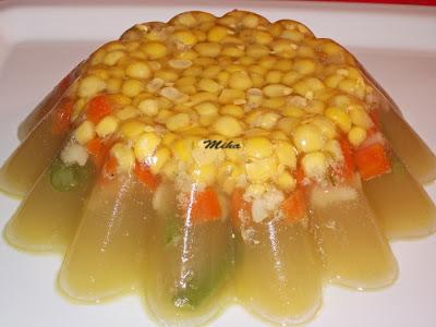 Piftie de cocos cu legume