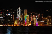 Night at Hong Kong