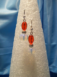 Ruby with a touch of Italian Opalite