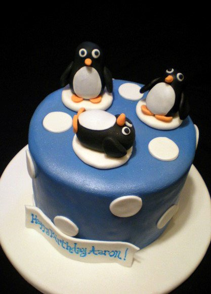 fondant penguin instructions.