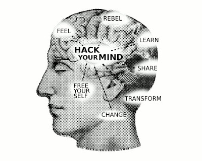 HACKyourMIND by kingkongirl. Creative Commons Licence.