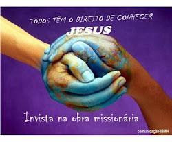 Invista na obra missionária