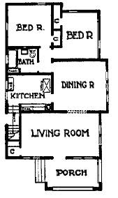 Tales of a young urbanite learning from chicago the Chicago style bungalow floor plans