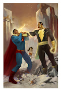 BLACK ADAM VS. SUPERMAN. Publicado por BAUXMAN en 10:00