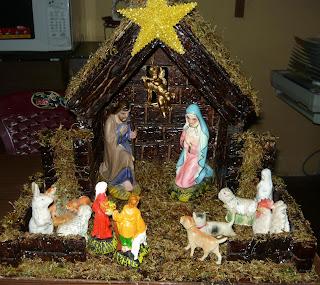Maquetas escolares casita para nacimiento navide o - Casitas de nacimientos de navidad ...