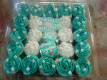 hantaran cuppies with box + deco
