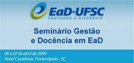 Seminário Gestão e Docência em EaD
