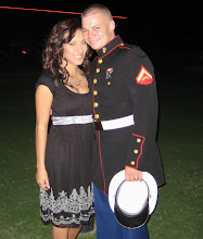 Chris and I at the Marine Corp Ball in Nov. of 07