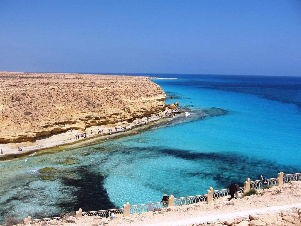 Marsa Matrouh Egypt  City new picture : From Egypt With Love: Agiba Beach Marsa Matrouh, Egypt