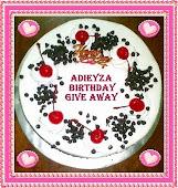 ADIEYZA BIRTHDAY GIVEAWAY