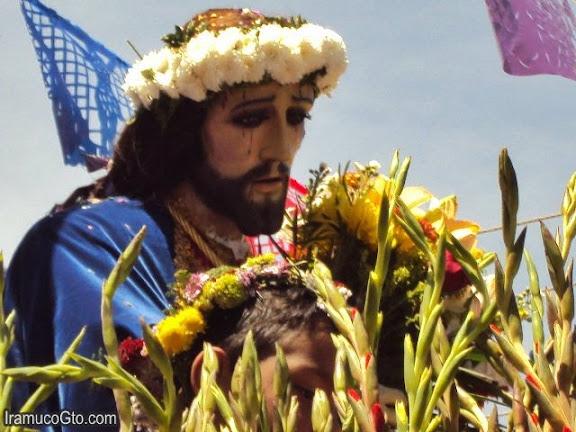 Senor de las tres caidas : Semana Santa 2010 en Iramuco, Gto