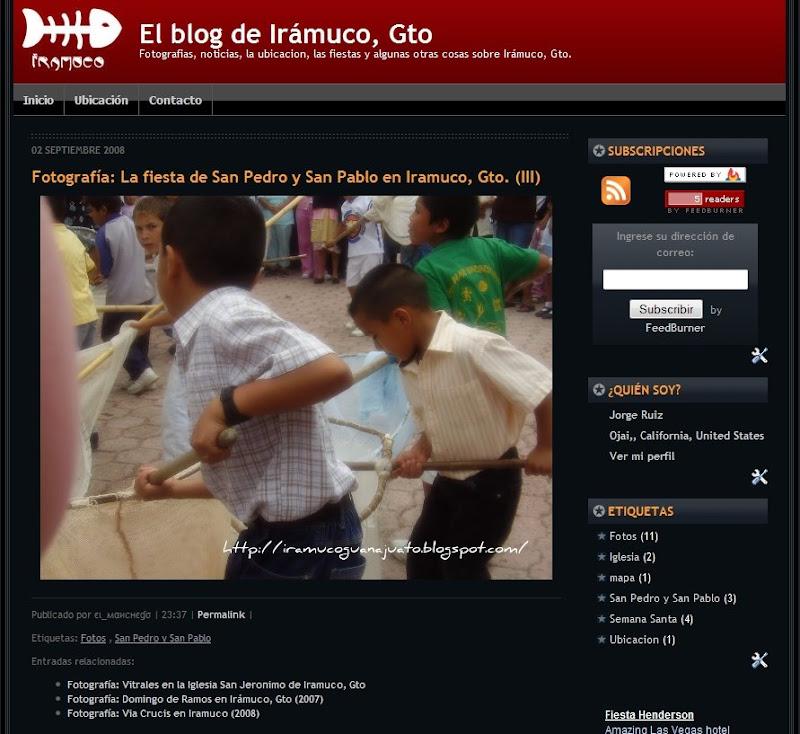 El blog de iramuco