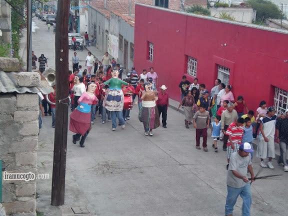 Precesion en Iramuco Gto Mexico Dia de San Jerónimo 2009