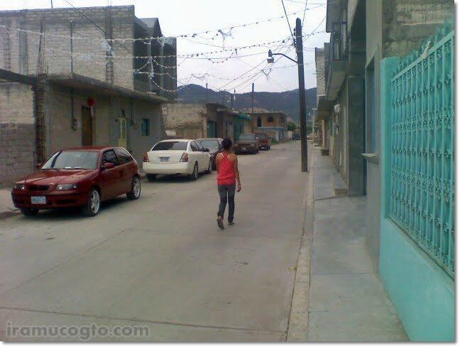 Calle Escuadrón 201 de Iramuco, Gto - http://iramucogto.com