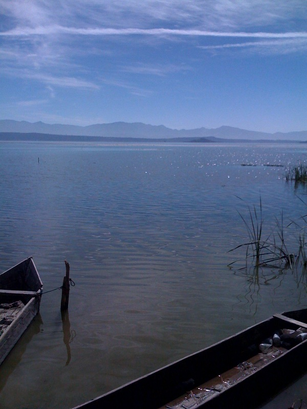 laguna de cuitzeo en Iramuco, Gto