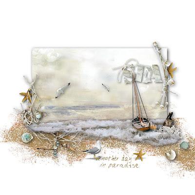 """""""Paint the Ocean"""" and """"Ocean"""" freebie"""