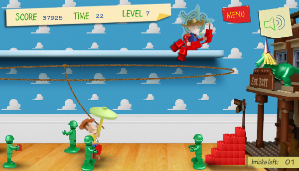 Toy Story 3 Games To Play : Mln and lego help new toy story game