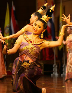 Thai classical dancing or Ram Thai