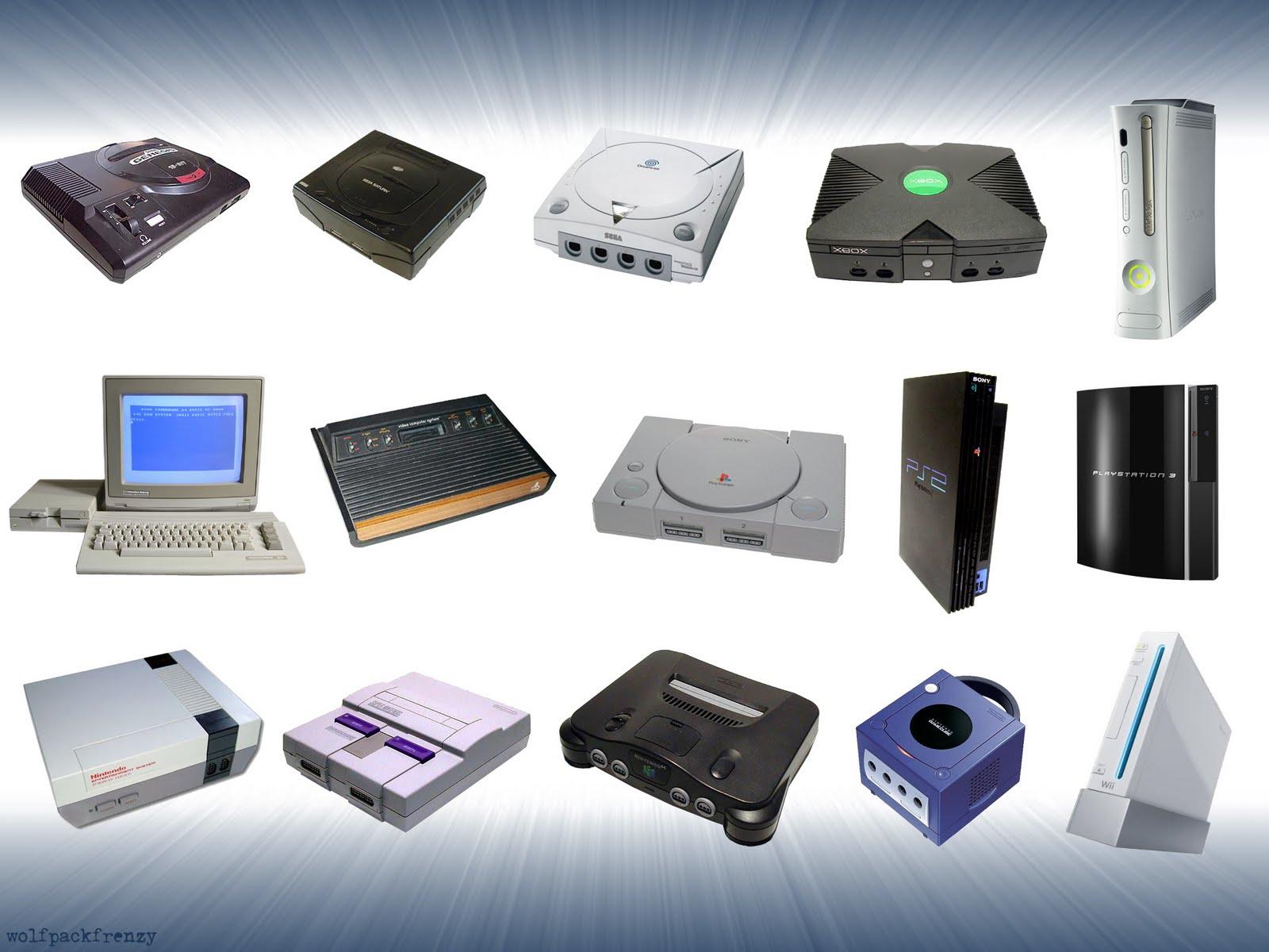 Pause evolu ao dos consoles - Ancienne console de jeux ...