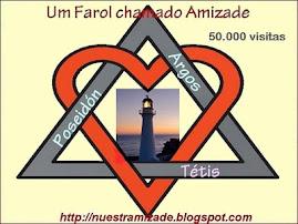 Tétis, Argos e Poseidon parabens pelas 50.000 visitas