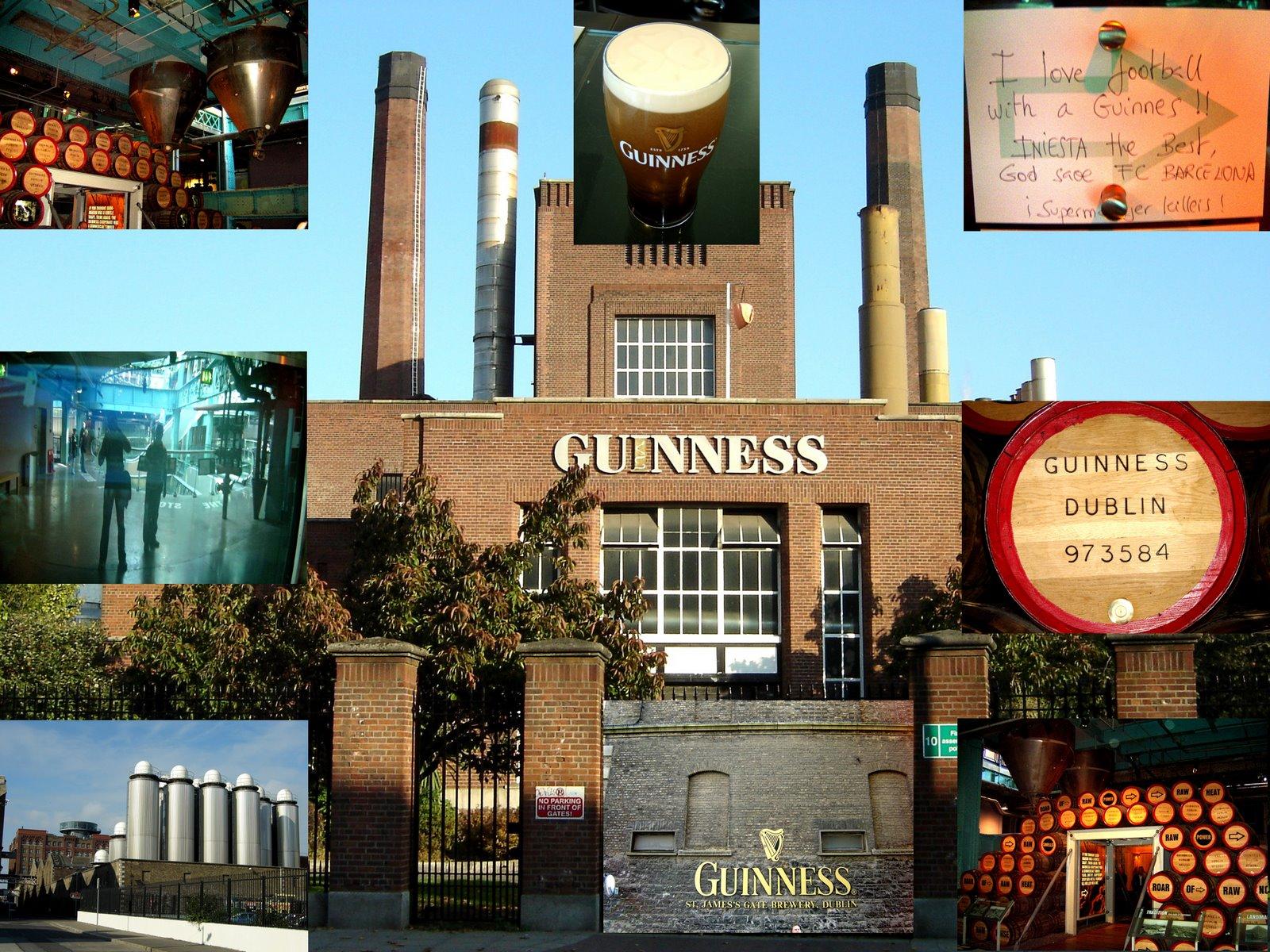 GUINNESS, UN BON MOTIU PER VISITAR DUBLIN