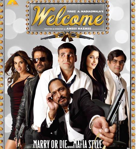 Welcome (2007) SL VBB - Akshay Kumar, Nana Patekar, Anil Kapoor, Katrina Kaif, Mallika Sherawat, Feroz Khan, Paresh Rawal, Asrani, Om Puri, Mushtaq Khan
