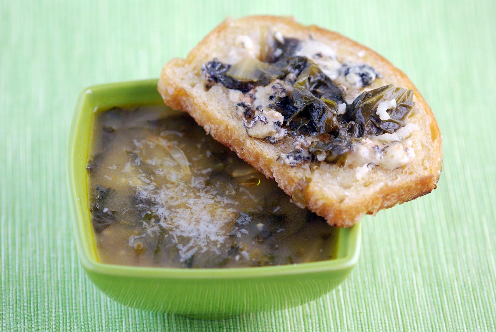 Endive Rice Soup Recipe — Dishmaps