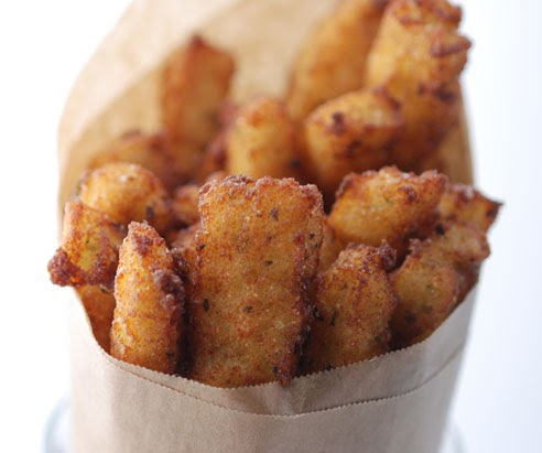 Vegetable Matter: Panelle (Chickpea Fries) with Dipping Sauce