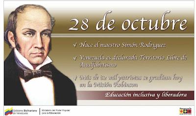 el 28 de octubre: